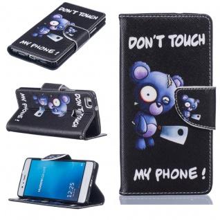 Schutzhülle Muster 75 für Huawei P9 Lite Bookcover Tasche Case Hülle Wallet Etui