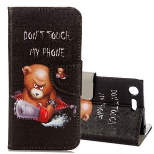 Schutzhülle Motiv 21 für Sony Xperia XZ1 G8341 G8342 Tasche Hülle Case Zubehör