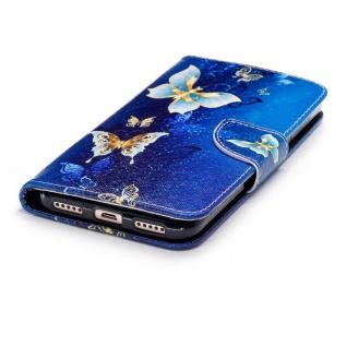 Für Huawei P20 Kunstleder Tasche Book Motiv 38 Schutz Hülle Case Cover Etui Neu - Vorschau 2