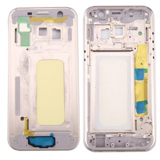 Mittelrahmen Kamera Gehäuse für Samsung Galaxy A3 2017 A320F Gold Reparatur Neu
