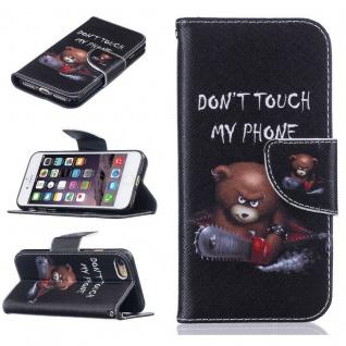 Schutzhülle Muster 61 für Apple iPhone 7 Bookcover Tasche Case Hülle Wallet Etui