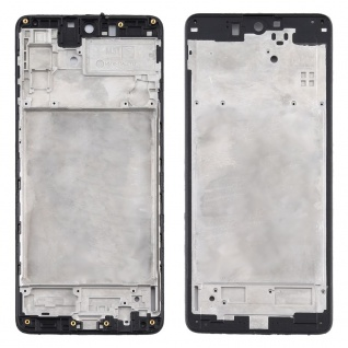 Front Housing Samsung Galaxy M51 Schwarz LCD Rahmen Gehäuse Zubehör Ersatzteil