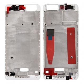 Gehäuse Rahmen Mittelrahmen Deckel kompatibel für Huawei P10 Weiß Reparatur Neu