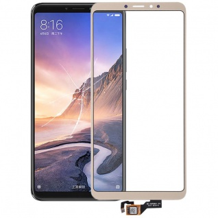 Reparatur Displayglas Touch Screen für Xiaomi Mi Max 3 LCD Gold Ersatz Neu
