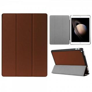 Smartcover Braun Tasche Wake UP Hülle Case für Apple iPad Pro 11.0 Zoll 2018 Neu