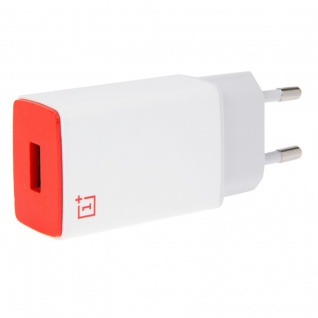 OnePlus One Two Three Ladegerät Charger Lade Adapter AY0520 2000 mAh Rot Weiss