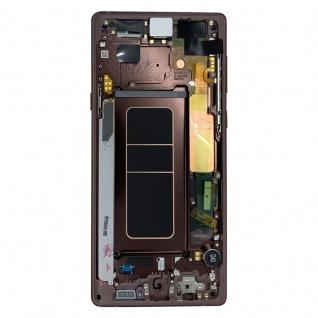 Samsung Display LCD Komplettset GH97-22269D Braun für Galaxy Note 9 N960F Ersatz - Vorschau 3