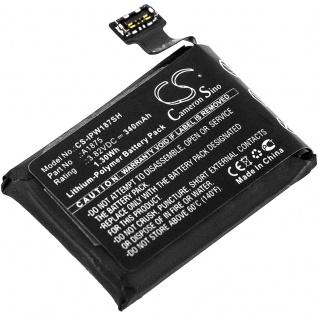 Akku Batterie Battery für Apple Watch Series 3 GPS 42mm ersetzt A1875 Ersatzakku