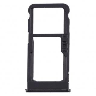 Für Nokia 5.1 Plus Simkarten Halter Card Tray Schwarz SD Card Ersatzteil Zubehör