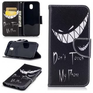 Schutzhülle Motiv 40 für Samsung Galaxy J3 J330F 2017 Tasche Hülle Case Zubehör