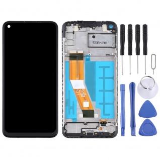 Für Samsung Galaxy A11 A115F Display Full LCD + Rahmen Touch Ersatzteil Schwarz