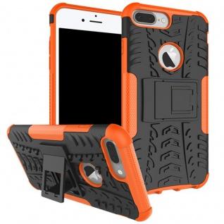 New Hybrid Case 2teilig Outdoor Orange für Apple iPhone 8 und 7 Plus 5.5 Tasche