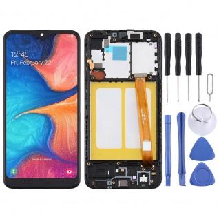 Für Samsung Galaxy A20e A202F Display Full TFT LCD + Rahmen Touch Ersatz Schwarz