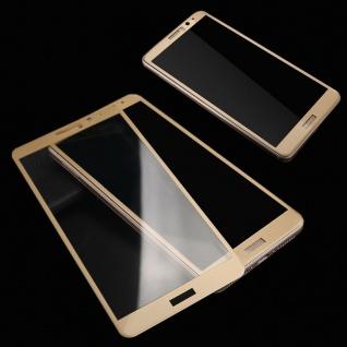 3D Full Hart Glas 0, 26 mm dünne H9 Schock Gold für Huawei P10 Lite Schutz Hülle