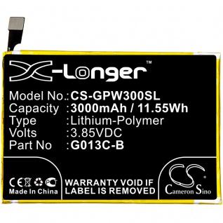 X-Longer Akku Batterie Battery für Google Pixel 3 XL CS-GPW300SL Ersatzakku Accu
