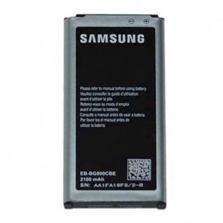Samsung Akku EB-BG800BBECWW für Galaxy S5 Mini G800F Ersatzakku Batterie Battery