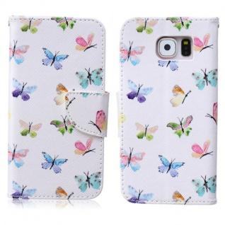 Schutzhülle Muster 68 für Samsung Galaxy S6 G920 G920F Tasche Cover Case Hülle