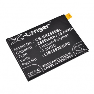 Akku Batterie Battery für Sony Xperia Z5 u. Z5 Dual ersetzt 1293-8715 Ersatzakku
