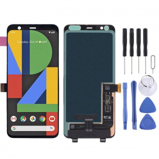 Für Googel Pixel 4 XL Display OLED LCD Einheit Touch Screen Reparatur Schwarz