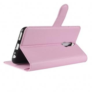 Tasche Wallet Premium Rosa für Huawei Mate 10 Lite Hülle Case Cover Etui Schutz - Vorschau 4