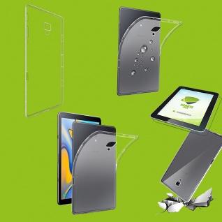 Für Samsung Galaxy Tab S4 10.5 Transparent Hülle Tasche Cover + HD LCD Folie Neu