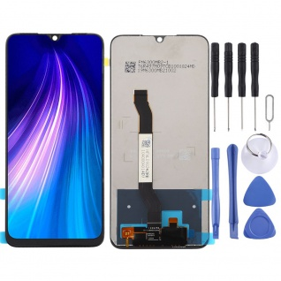 Für Xiaomi Redmi Note 8 Display LCD Einheit Touch Screen Reparatur Schwarz Neu
