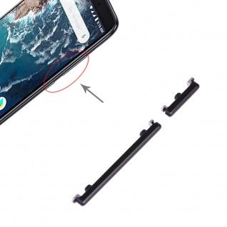 Power Volume Button Schwarz für Xiaomi Mi 6X / A2 Lautstärke On Off Ersatzteil