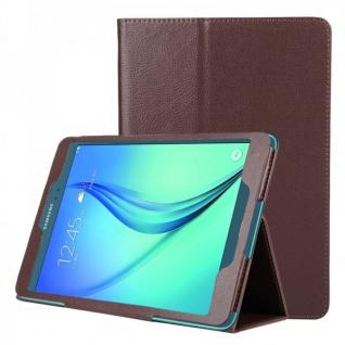 Schutzhülle Braun Tasche für Samsung Galaxy Tab A 9.7 T555N T550 Hülle Case Etui