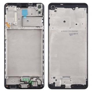 Front Housing Samsung Galaxy A21s Schwarz LCD Rahmen Gehäuse Zubehör Ersatzteil
