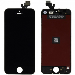 Display LCD Komplett Einheit Touch Panel für Apple iPhone 5 5G Schwarz Glas Neu 1