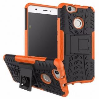 Hybrid Case 2teilig Outdoor Orange für Huawei Nova Tasche Hülle Cover Neu Schutz