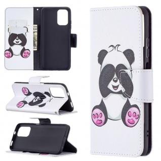 Für Xiaomi Redmi Note 10 4G / 10s Kunst-Leder Handy Tasche Motiv 3 Hülle Etuis