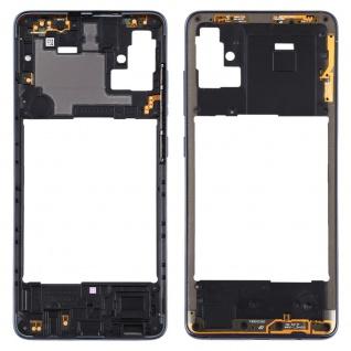 Mittelrahmen für Samsung Galaxy A51 A515F Schwarz Middle Frame Rahmen Ersatzteil