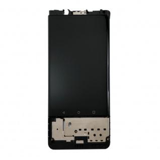 Für Blackberry KEYone Display Full LCD Touch mit Rahmen Reparatur Schwarz Neu - Vorschau 3