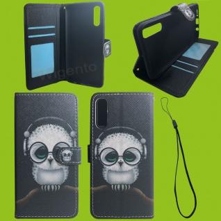 Xiaomi Redmi Note 9S/9 Pro Kunst-Leder Handy Tasche Motiv 58 Hülle Case Cover