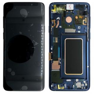 Samsung Display Full LCD Komplettset GH97-21696D Blau für Galaxy S9 G960F / Duos