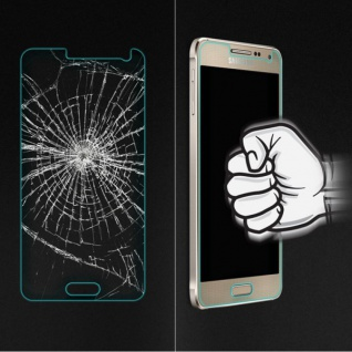 Hartglas Displayschutzfolie 0, 3 H9 Panzerfolie Folie für viele Smartphones Top - Vorschau 2