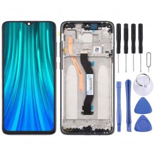 Für Xiaomi Redmi Note 8 Pro Display LCD Einheit mit Rahmen Touch Screen Schwarz