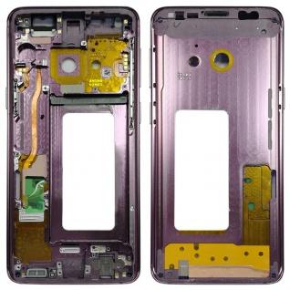 Mittelrahmen Rahmen Kamera Glas Gehäuse für Samsung Galaxy S9 G960 G960F Lila