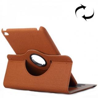 Deluxe Schutzhülle 360 Grad Braun Tasche für Apple iPad Mini 4 7.9 Zoll Hülle