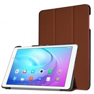 Smartcover Braun für Huawei MediaPad M3 8.4 Zoll Hülle Case Tasche Schutz Neu