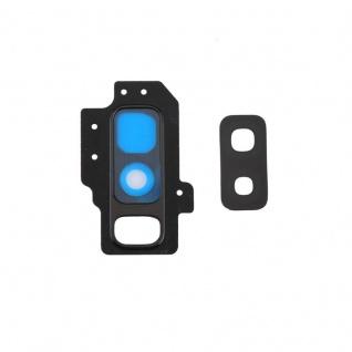 Für Samsung Galaxy S9 Plus G965F Kamera Ring Glas Abdeckung Rahmen Cover Schwarz
