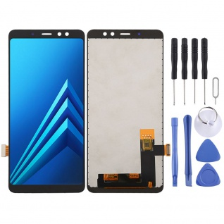 Für Samsung Galaxy A8 Plus 2018 Display Full LCD Touch Screen Reparatur Schwarz