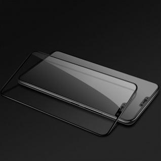 Für OnePlus 6 Six 3D Premium 0, 3 mm H9 Hart Glas Schwarz Folie Schutz Hülle Neu