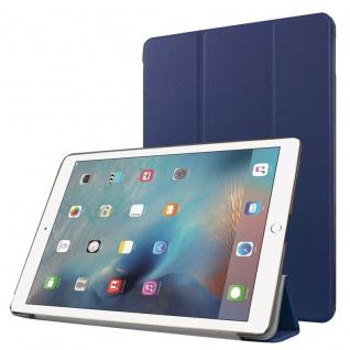 Smartcover Dunkelblau Cover Tasche für NEW Apple iPad 9.7 2017 Hülle Etui Case