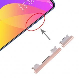 Für Xiaomi Mi 9 Lite Sidekeys Seitentasten Gold Ersatzteil Zubehör Reparatur