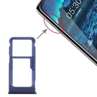 Für Nokia 5.1 Plus Simkarten Halter Card Tray Blau SD Card Ersatzteil Zubehör - Vorschau 4