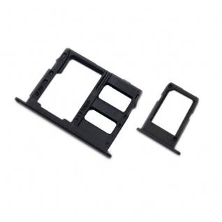 Für Samsung Galaxy A6 / A6 Plus 2018 Simkarten Halter Sim Tray SD Card Schwarz