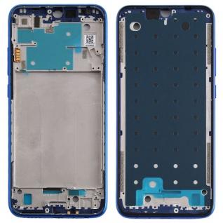 Gehäuse Rahmen Mittelrahmen Deckel für Xiaomi Redmi Note 8 Blau Ersatz Reparatur