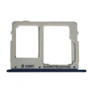 Sim Karten Halter für Samsung Galaxy Tab S5e T720 10.5 Blau Card Tray Ersatzteil